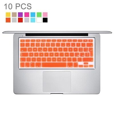 ELETTRONICA 10 PCS Colorized Apple Laptop Silicone Keyboard Protector Protectiv