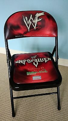 WWF UNFORGIVEN 2001 PPV Ringside Event Chair (wwe/wcw invasion)