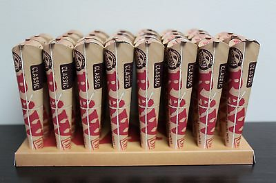 Raw Rolling Paper Pre-Rolled Classic Cones 1 1/4~30 Pks- 180 Cones~ FREE GIFTS