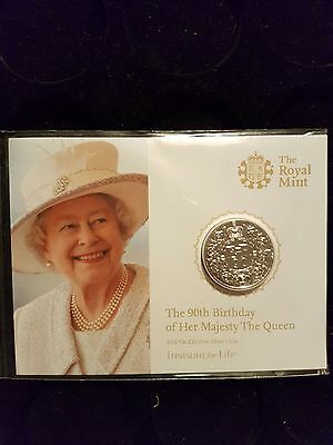 the 90th birthday of her majesty the queen £20 coin