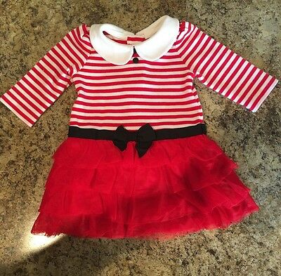 Gymboree Infant Girl's Holiday Dress Size 0/3 Months