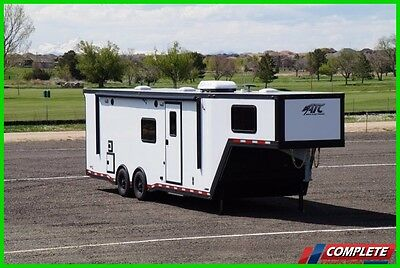 Premium ATC 405 Toy Hauler 8.5x34 Gooseneck Race Car Enclosed Trailer