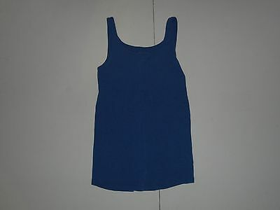 Old Navy Maternity Blue Tank Top Sleeveless Top Size Medium M Scoop Neck
