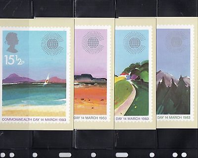 1983 Commonwealth Day Mint Phq Set From Collection O6