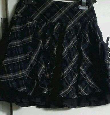 �� Next Girls lined Skirt Age 4 ��