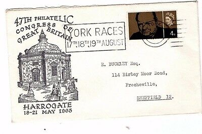 1965 47th PHILATELIC CONGRESS OF GREAT BRITAIN HARROGATE FDC FROM COLLECTION M5