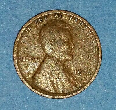 1920 Lincoln Wheat Cent  ID #9-15