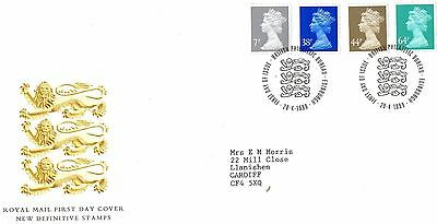 1999 England New Definitive Stamps Fdc From Collection C8