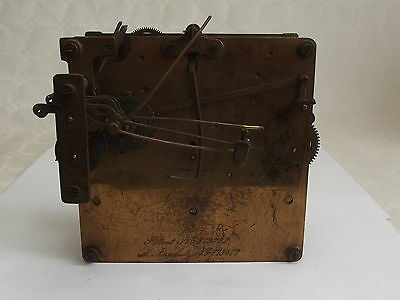 MusterSchutz clock Movement 773488 - For Spares or Repair