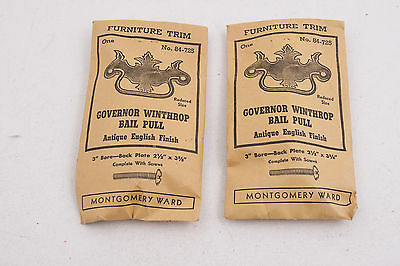 Governor Winthrop Bail Pull Montgomery Ward Drawer Handle (C2L)