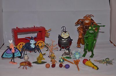 Very Rare - Large Bundle Bugs Life Playsets & Figures - A Must!!!