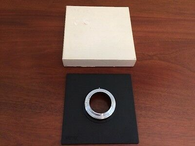 Sinar Lens Board With Nikon Adapter 556.93