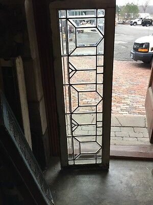 Sg 963 Antique All Beveled Glass Y Transom