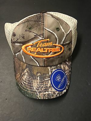 Team RealTree Camouflage Summer Ball Cap Embroidered Tan/Camo New
