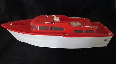 Vintage Original 1960s Phillips 66 Power Yacht Toy Boat (parts missing)