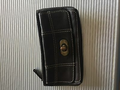 Next Brown Leather Purse