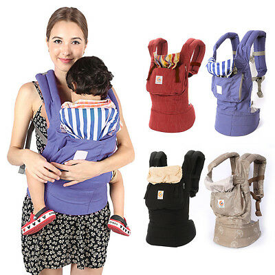 Ergonomic Infant Baby Adjustable Wrap Sling Newborn Backpack Carrier Wife Gift