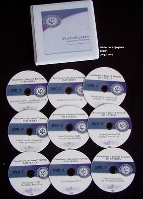 Russ Whitney Foreclosure Buying Advanced Series Complete Dvd Set W/ Cdrom Manual