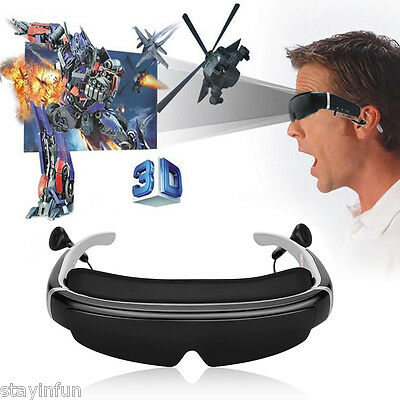 Excelvan HOT 98 inches 3D Video Glasses Virtual WidescreenPortable Video Eyewear