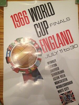 World Cup 1966 Poster