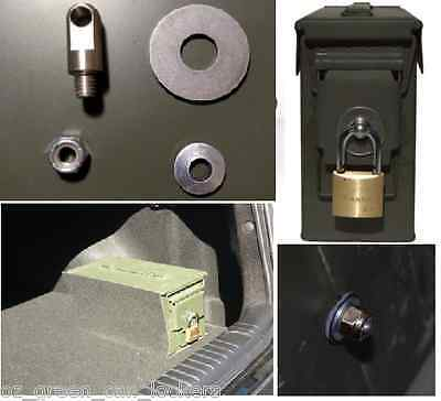 Locking Hardware Kit. No Ammo Box Case Can (3rd Gen) fits 50 30 Cal 20mm 40mm