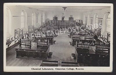 Co Tipperary Chemical Laboratory Cistercian College Roscrea Real Photo