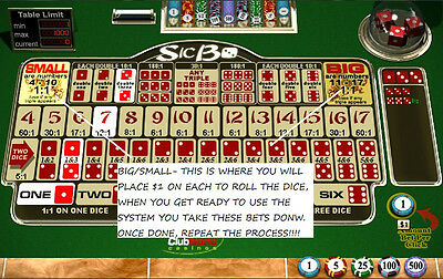 """""""sic Bo Professional System! Beter Odds Than Roulette! Money Back Guarantee!!!"""""""