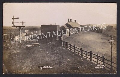 Kent Lydd Railway Station Real Photo