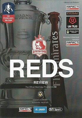 ALFRETON TOWN v NEWPORT COUNTY 2016/17 FA Cup 1st Round