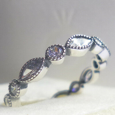 Pandora Shimmering Marquise Ring -sizes - genuine sterling silver ex condition!