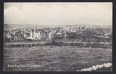 Co Galway Bird'S Eye View Of Loughrea Local Publisher