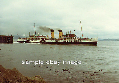 Clyde Steamer 'Waverley' at Dunoon 1972