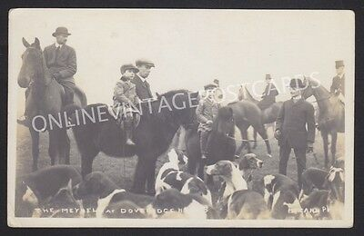STAFFORDSHIRE DOVERIDGE HOUNDS HUNT MEET McCANN REAL PHOTO