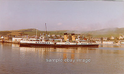 Clyde Steamer 'Waverley' at Campbeltown 1971