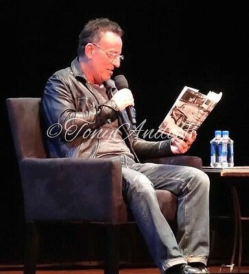 Bruce Springsteen Signed Born To Run NYC Town Hall Plus Photos