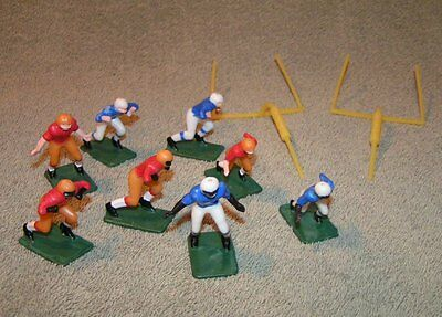 10 pc. Vintage Wilton-Chicago-Football Players Cake Toppers Figurine -Set 1974