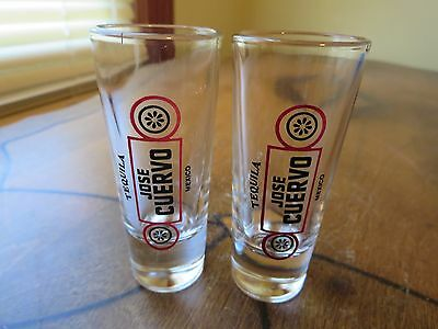 Jose Cuervo Tequila Shot Glasses Mexico