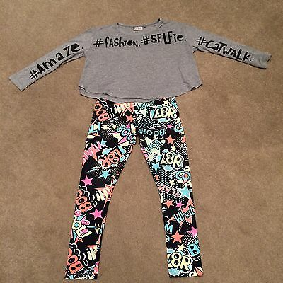 Girls Next Top And Leggings Age 9