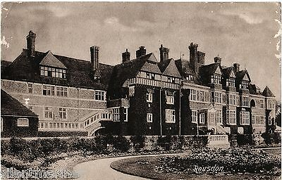 Rousdon Mansion, old postcard (image c.1900), unposted