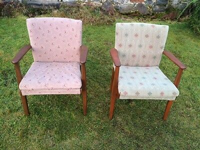 1960's Parker Knoll Armchairs