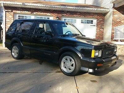 1992 GMC Jimmy  1 Owner-45,000 Original Miles-All Stock-All Original-Hard to Find Condition!