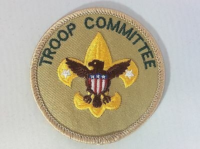 Troop Committee  Position patch Kahki