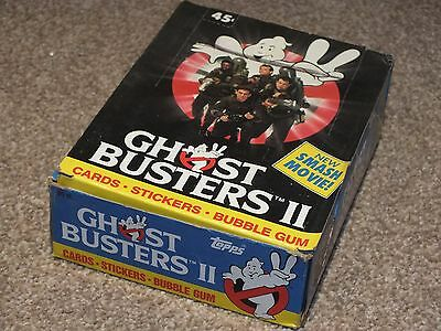 Ghostbusters 2 Trading Card Wax 80s Complete Box Sealed Packets 1989