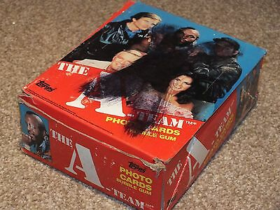 A-Team Trading Card Wax 80s Complete Box Sealed Packets