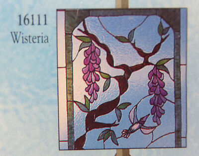 Gallery Glass Wisteria Pattern to Fit Any Window