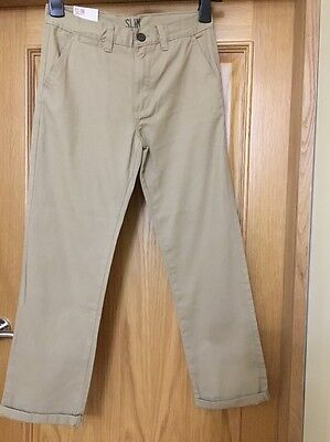 Boys Trousers Age 11/12 Year New
