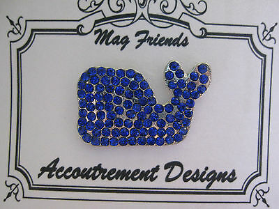 Accoutrement Designs Blue Whale Needle Minder Magnet Mag Friends