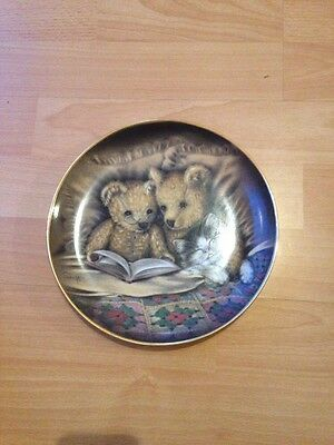 Franklin Mint Plate Bedtime Story by Sue WillisLimited Edition GA 1976