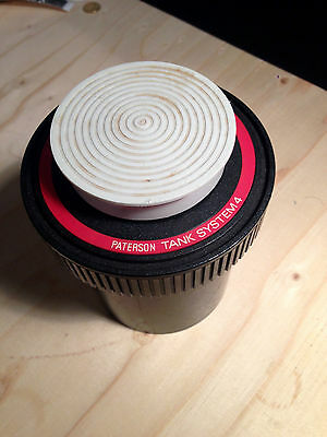 Paterson Universal developing Tank 4 camera oscura 2 rolls 35mm or 1 -120 film
