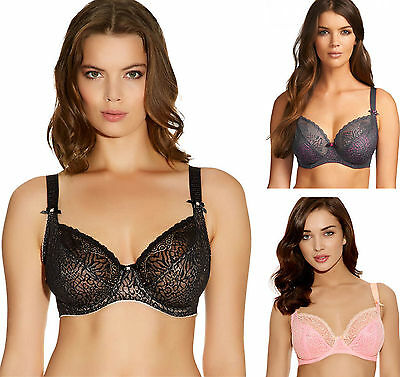 Freya 1661 Icon Underwired Non Padded Balcony Plunge Bra New Lingerie